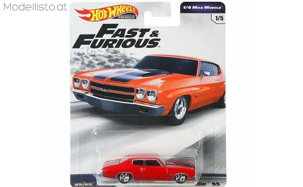 1970 Chevrolet Chevelle SS Fast & Furious 6 1/4 Mile Muscle Serie