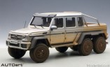 Mercedes-Benz G63 AMG 6x6 silver muddy version